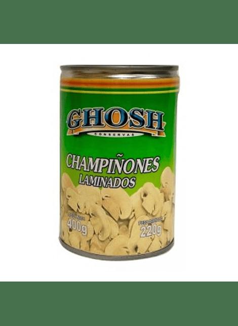 CHAMPIÑONES LAMINADOS GHOSH 400 G