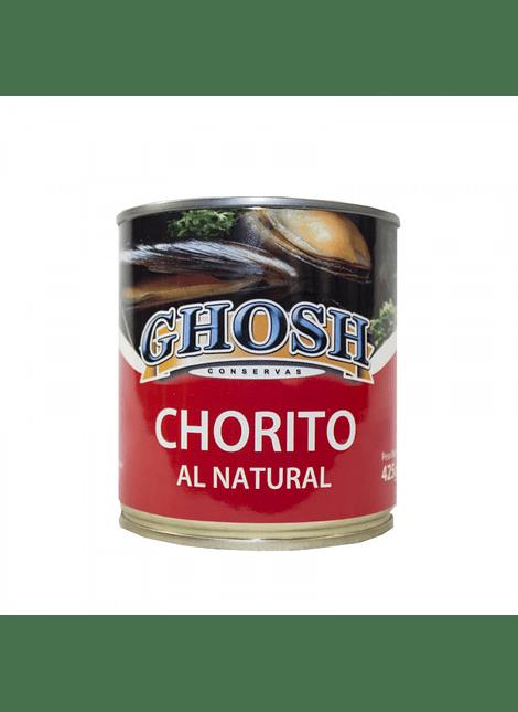 CHORITO AL NATURAL GHOSH 425 G