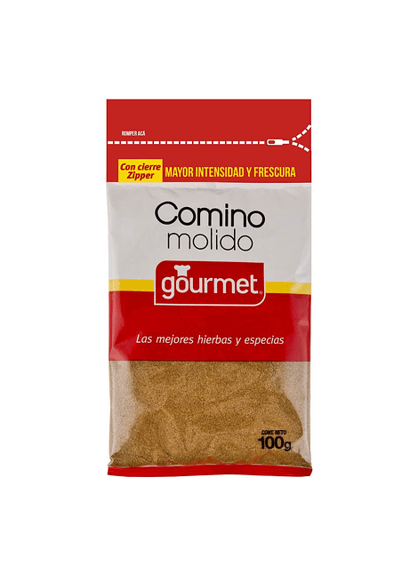 COMINO MOLIDO GOURMET 100 G