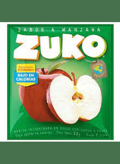 JUGO ZUKO MANZANA 25 G