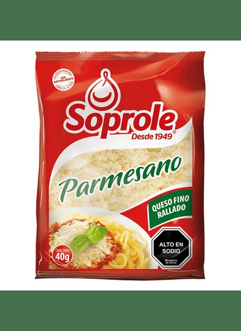 QUESO PARMESANO SOPROLE 40 G