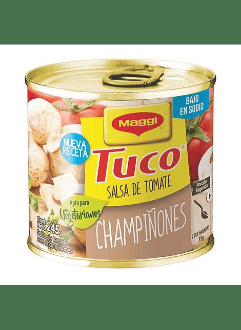 SALSA TUCO CHAMPIÑONES 245 G