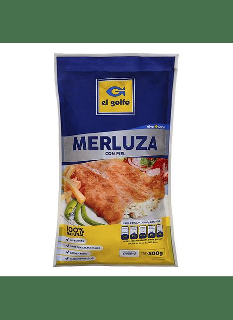MERLUZA CON PIEL EL GOLFO 500 G