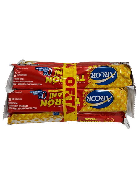 PACK TURRON ARCOR 7 UN