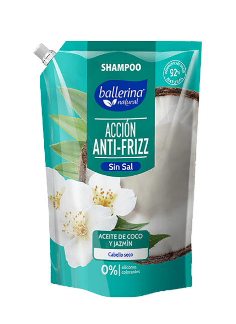SHAMPOO BALLERINA ANTI-FRIZZ 900 ML