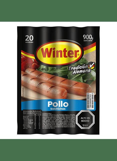 SALCHICHAS WINTER POLLO 20 UN
