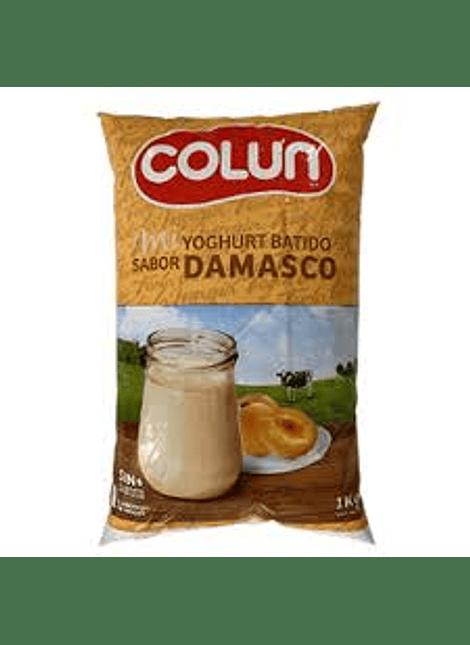 YOGHURT BATIDO DAMASCO COLUN 1 KG