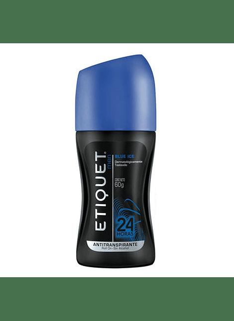 DESODORANTE HOMBRE ETIQUET BLUE ICE 60 G