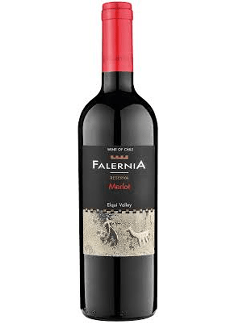 VINO FALERNIA MERLOT 750 ML
