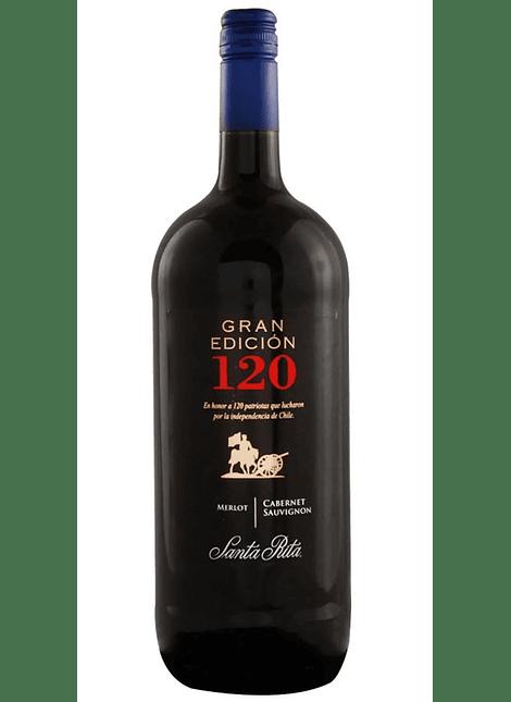 VINO GRAN EDICION 120 MERLOT-CABERNET 1.5 LT
