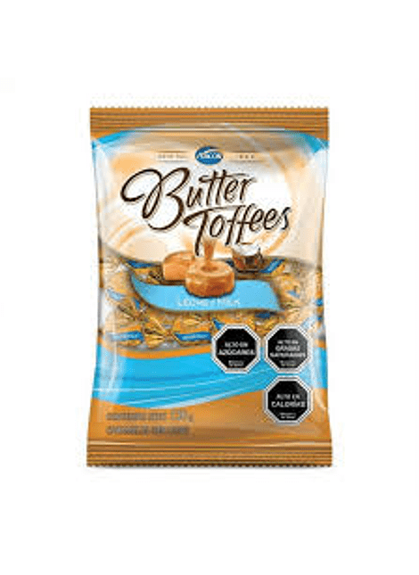CALUGA BUTTER TOFFEES LECHE 130 G