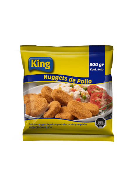 NUGGETS POLLO KING 300 G