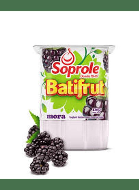 YOGHURT BATIFRUT MORA SOPROLE 165 G