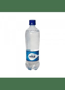 AGUA MINERAL VITAL CON GAS 600 ML