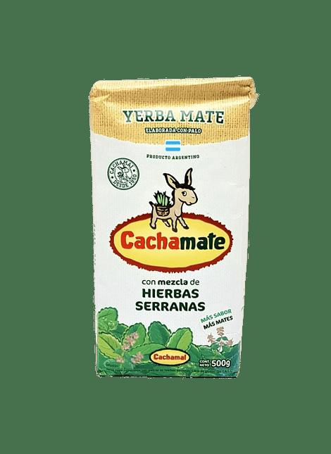 YERBA MATE HIERBAS SERRANAS CACHAMATE 500 G