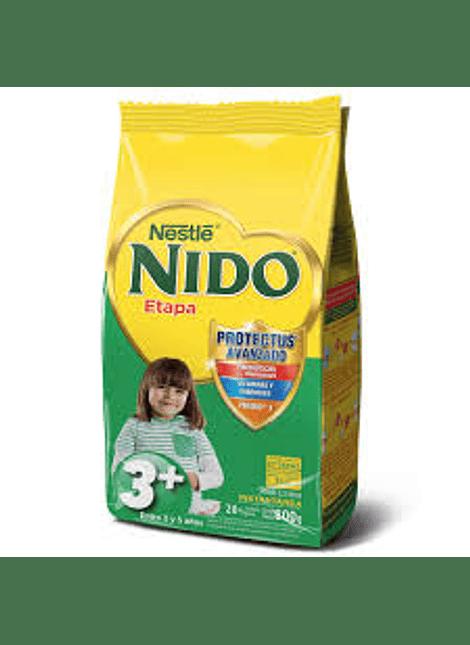 LECHE EN POLVO 3+ NIDO 800 G