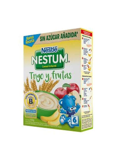 NESTUM TRIGO Y FRUTAS 250 G