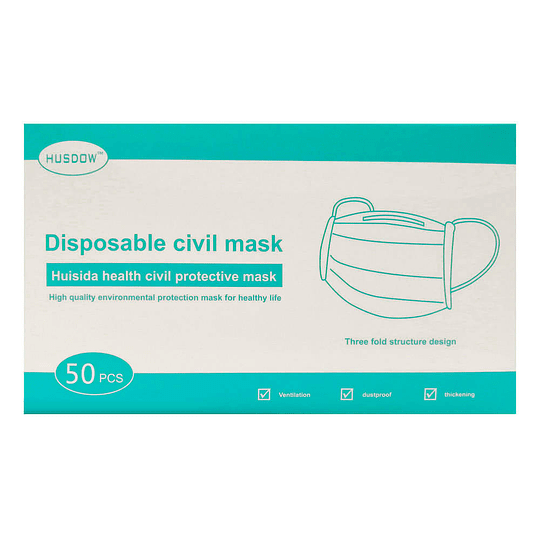 MASCARILLA 3 PLIEGUES