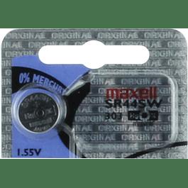 PILA BOTON OXIDO DE PLATA MAXELL SR44 (303) 1,55 V