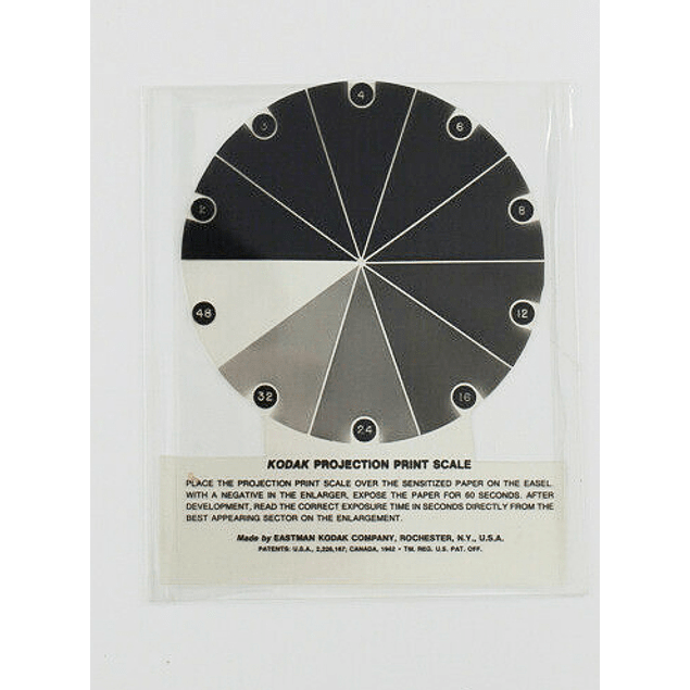 KODAK PROJECTION PRINT SCALE-  R26  - ORIGINAL KODAK