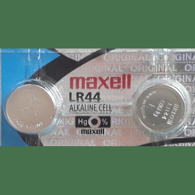 PACK 2 UN PILAS ALCALINAS LR44  (A76) 1,5V MAXELL