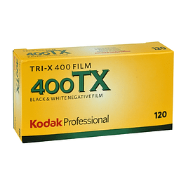 PACK 5 ROLLOS TRI-X 400 - B/N - FORMATO 120