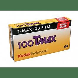 PACK 5 ROLLOS TMAX 100 - B/N - FORMATO 120