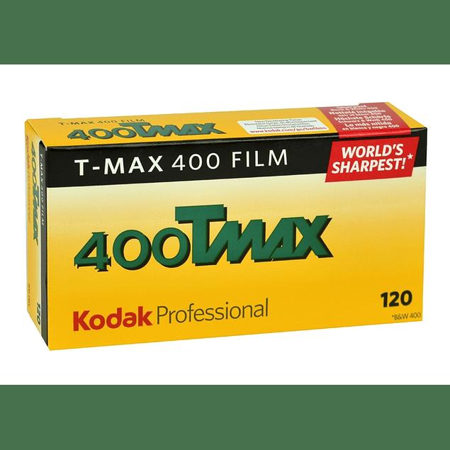 PACK 5 ROLLOS TMAX 400 - B/N - FORMATO 120