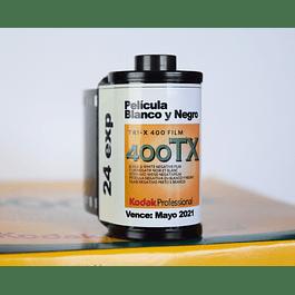 ROLLO (Carga) Película 35mm BLANCO Y NEGRO - KODAK TRI-X 400- 24 Exp