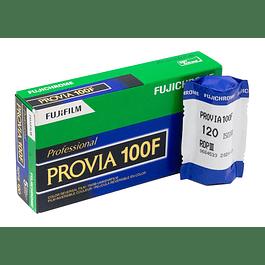 ROLLO PELÍCULA COLOR DIAPOSITIVA FUJI PROVIA 100F FORMATO 120