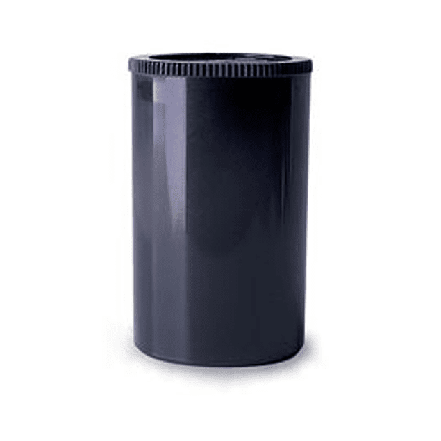 FRASCO PLÁSTICO NEGRO PARA GUARDAR ROLLO 35mm