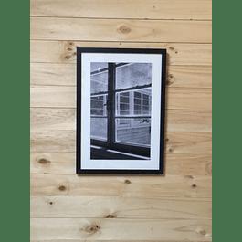 ENMARCACION FINE ART, INCLUYE FOTO-MARCO 35x50 - PASPARTÚ.