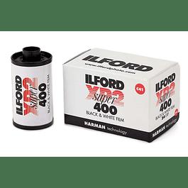ROLLO PELÍCULA 35mm ILFORD XP2 SUPER 400 BLANCO Y NEGRO 36 EXP.