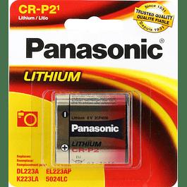PILA LITIO CR-P2 - 6V - PANASONIC