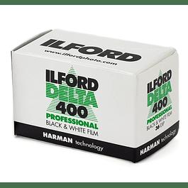 ROLLO PELÍCULA 35mm ILFORD DELTA 400 BLANCO Y NEGRO 36 EXP.