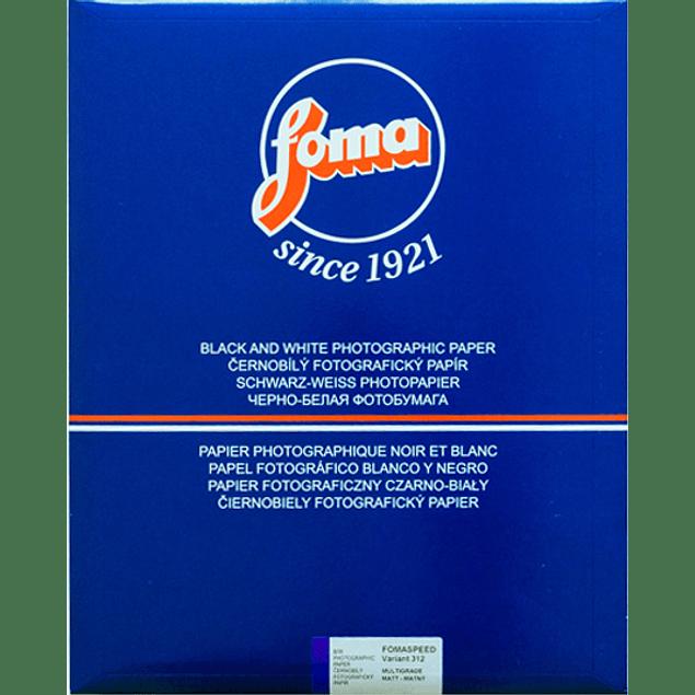 PAPEL FOTOGRAFICO FOMASPEED VARIANT 312  MATTE  24X30 CMS - PACK 10 HOJAS
