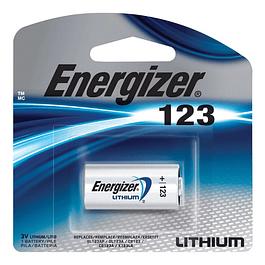 PILA LITIO 123-  3V - ENERGIZER