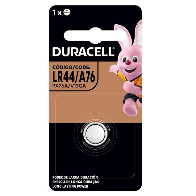 PILA ALCALINA DURACELL LR44 1,5 V