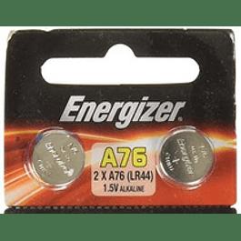 PAR DE PILAS ALCALINAS ENERGIZER LR44 1,5 V