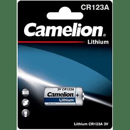 PILA LITIO CR123A 3V - CAMELION