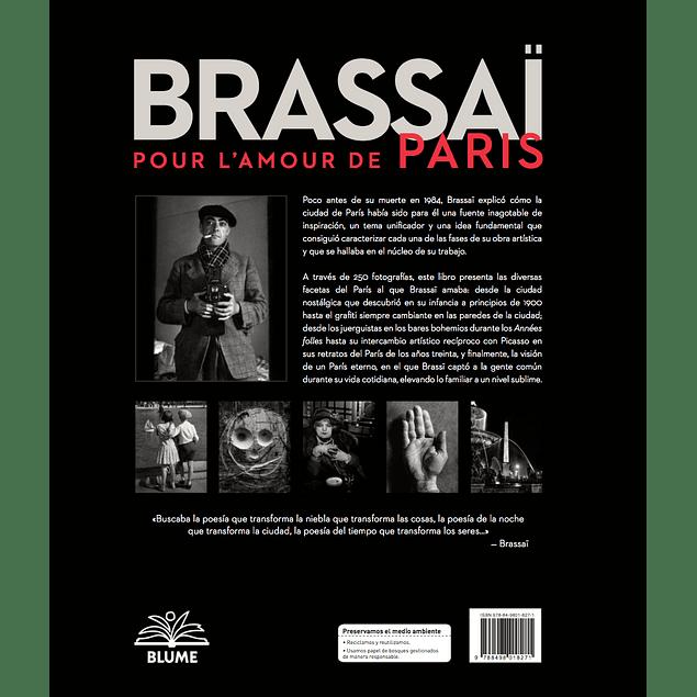 LIBRO: BRASSAI - POUR L' AMOUR DE PARIS