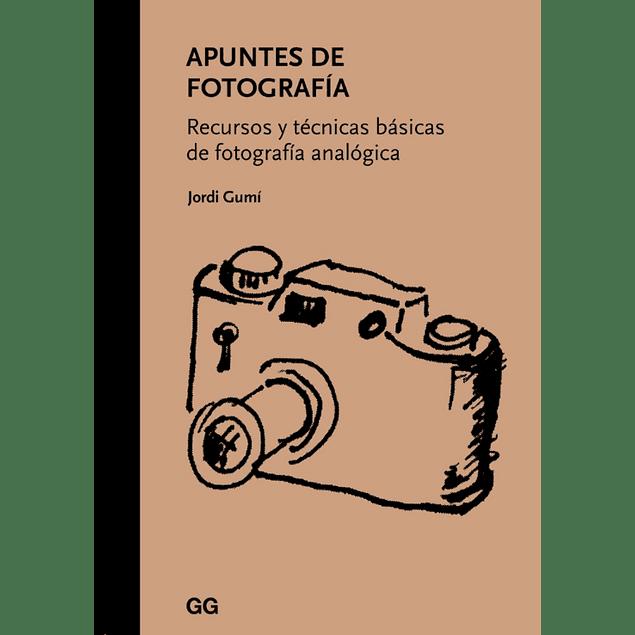 LIBRO: APUNTES DE FOTOGRAFIA - JORDI GUMI
