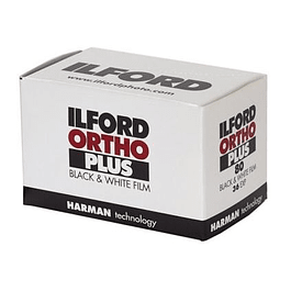 ROLLO ILFORD ORTHO PLUS 35mm - 36 exp.  BLANCO Y NEGRO