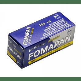 ROLLO  BLANCO Y NEGRO FOMAPAN 100 Formato 120