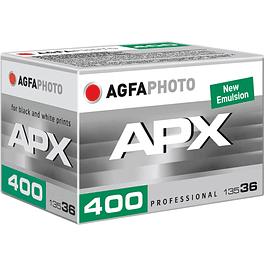 ROLLO PELÍCULA FOTOGRÁFICA BLANCO Y NEGRO 35MM AGFA PHOTO APX 400 -  36 EXP