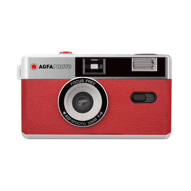 CAMARA AGFA 35mm REUTILIZABLE - ROJO