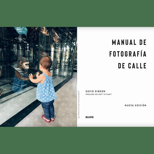 LIBRO: MANUAL DE FOTOGRAFIA DE CALLE - DAVID GIBSON