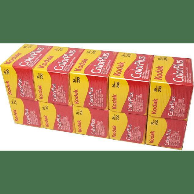 SUPER PROMO - KODAK COLOR PLUS 200- 10 UN - 35mm