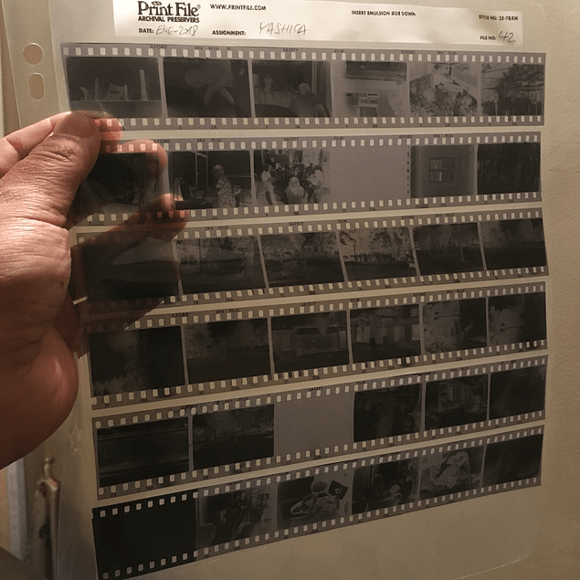 1d201d181 Funda para archivar Negativos PRINT FILE , 35mm 7x6exp