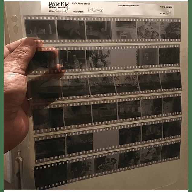 FUNDA PARA NEGATIVO 35mm PRINT FILE- PACK 10 un